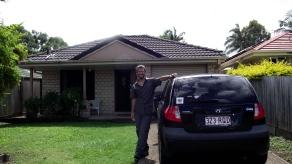 La primera foto en Brisbane!