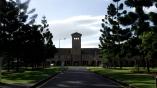Frontis de la Universidad Católica de Australia.