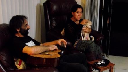 Con Phil y Chloe!