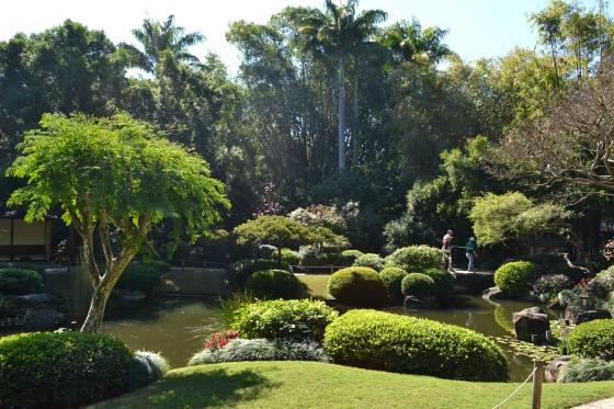 Jardín Japonés en Mount Coot-tha