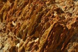 Queenstown - El fuerte color de la roca que se hace presente
