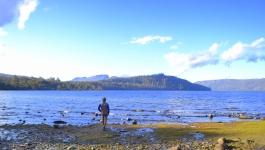 Lago Saint Clair - La última parada en este parque nacional